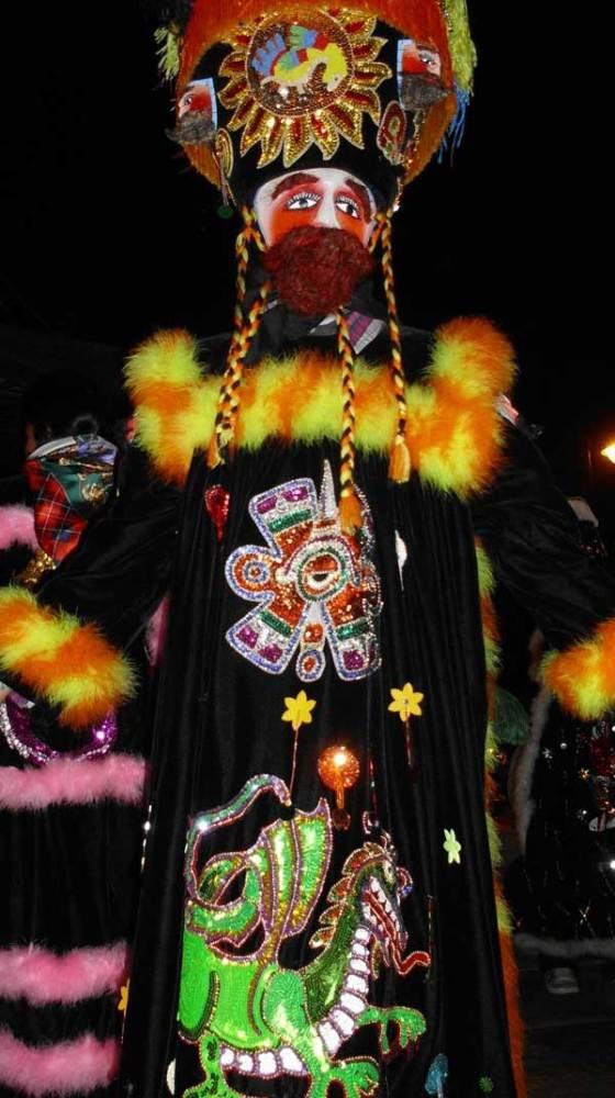 Exposición Virtual de Trajes de Chinelo, Juchitepec 2011 (1/6)