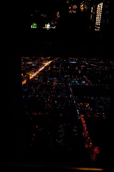 En stor del av staden syns ju faktiskt härifrån
