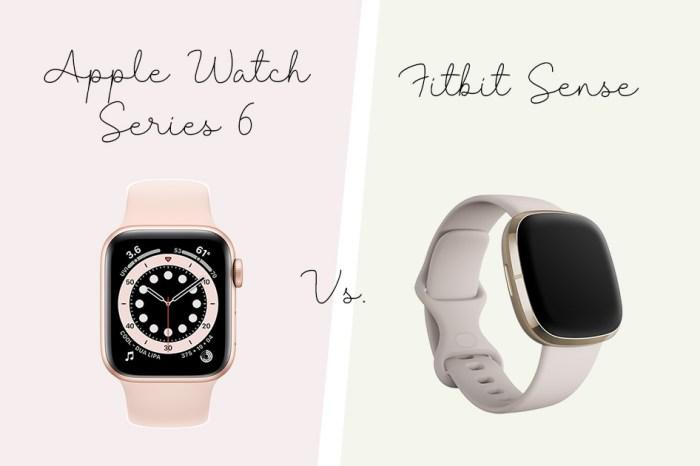 【運動健身】Apple Watch Series 6 vs. Fitbit Sense 我的實際使用心得比較😛