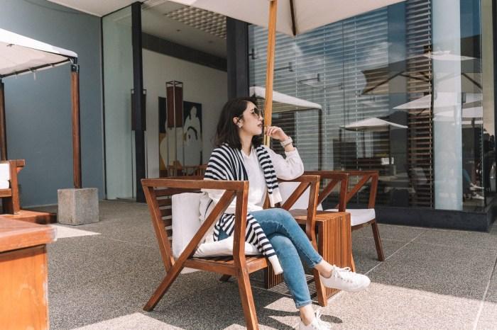 我的生日旅行/日月潭穿搭:Marc Jacobs The Tote Bag & Chloe Poppy墨鏡,再次宣傳Muji帆布鞋真的好穿~