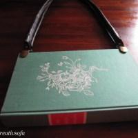 Nähen: Noch ein Bücherhandtäschchen