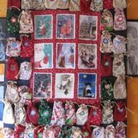 Nähen: Weihnachtliches Mamutprojekt oder ein Adventskalender für zwei