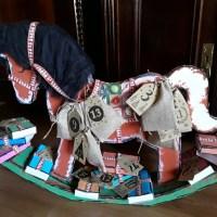Vintage: Ein Schaukelpferd zum Advent