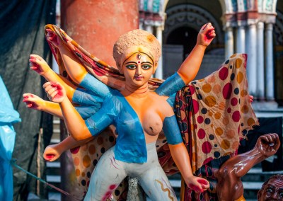Durga Puja – Making Idols