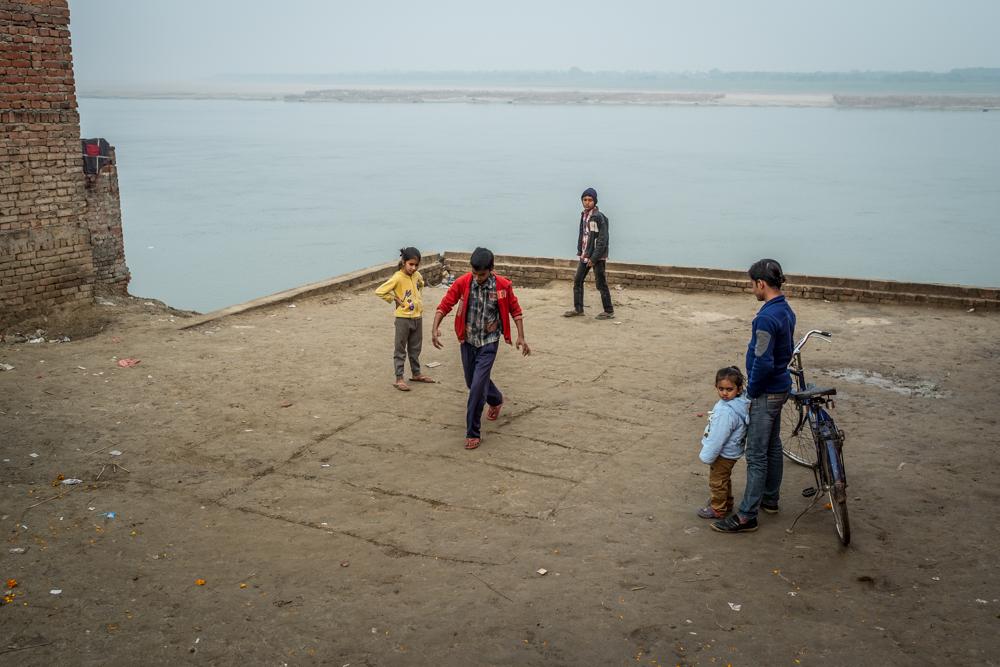Beyond Assi Ghat,  Varanasi