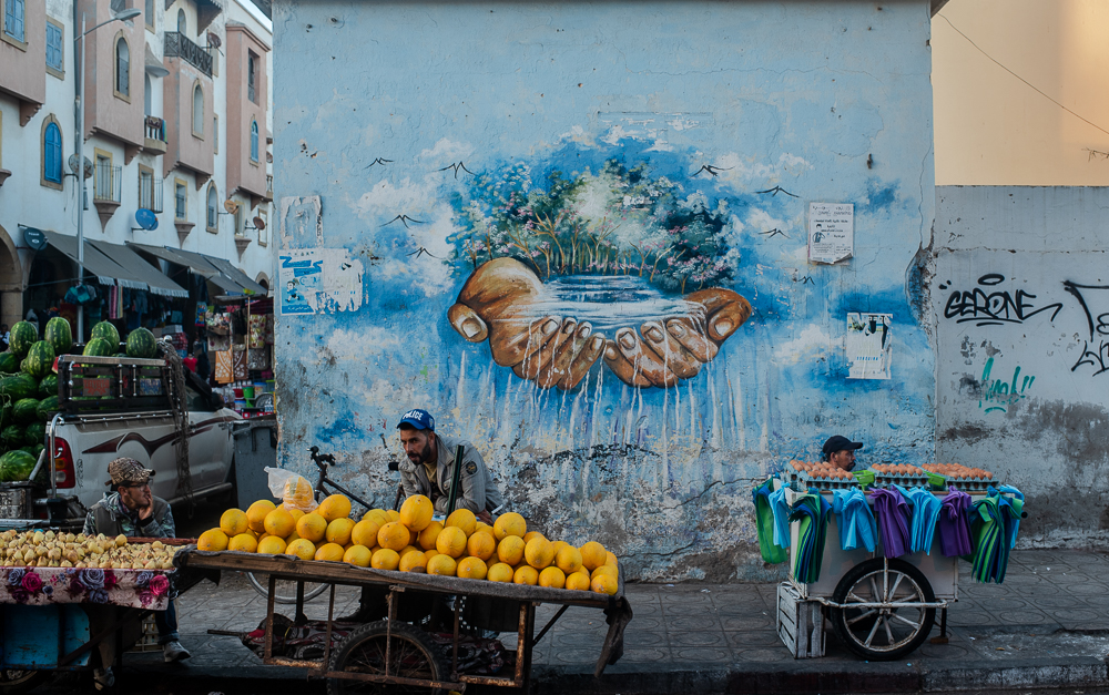 Art in the Streets of Essaouira