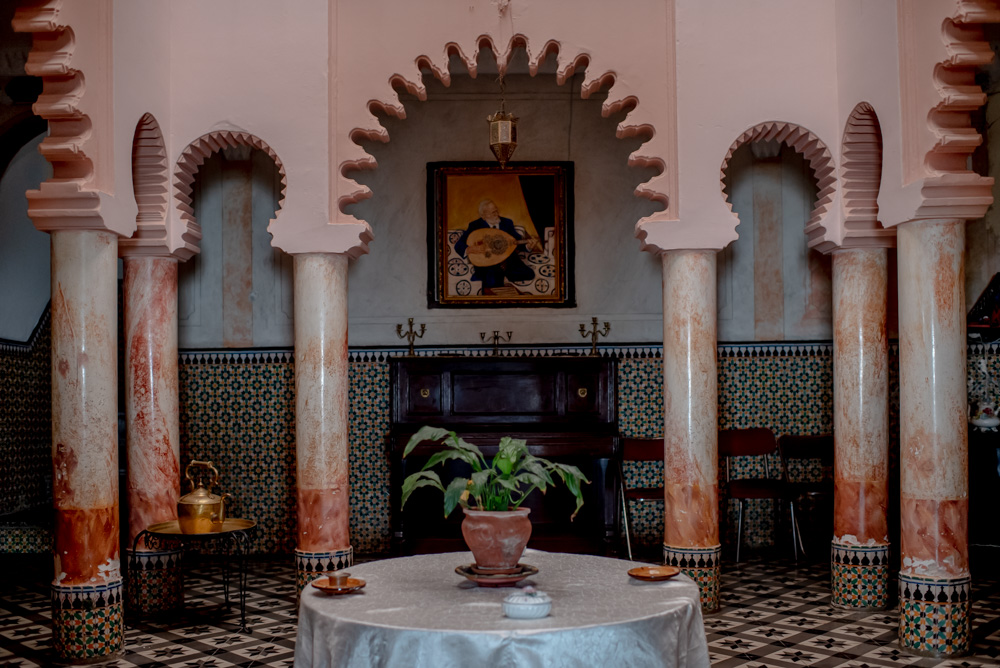 Dâr Damânah in Tangier ;  the Home of Emily Keane