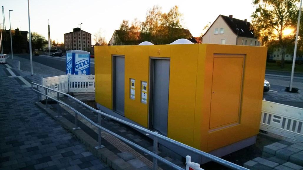 bagno pubblico automatico