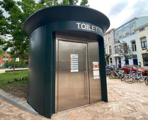 toilette prefabbricata automatica