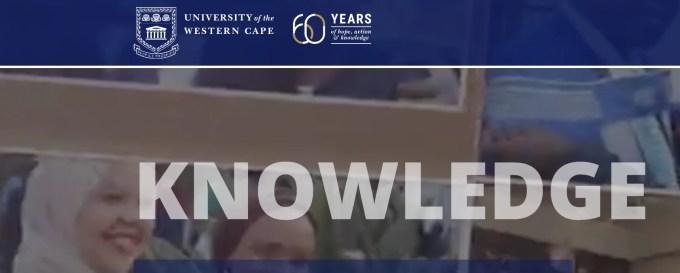 University of Western Cape Prospectus 2022 (Download PDF)