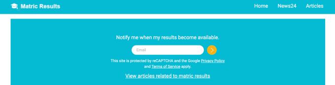 Home-Matric-Results