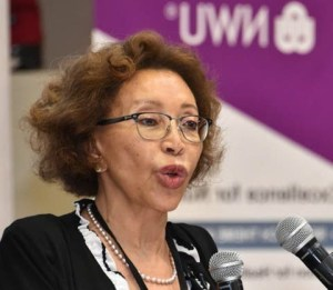Tshepo Motsepe(born 17 June 1953) is a medical doctor and the current First Lady of South Africa as the wife ofCyril Ramaphosa, the President of South Africa.