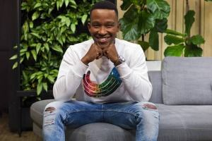 Katlego Maboe (born 29 October 1986) is a South African singer, songwriter, accountant, and television presenter best known for co-hosting the magazine shows 50/50 on SABC2 and Expresso on SABC3.