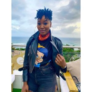 Lamiez Holworthy (born 12 June 1992) is a South African DJ, television and radio personality. She is best known for hosting the music show Live Amp on SABC 1.
