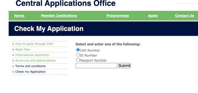 UNIZULU Application Status