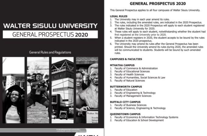 Download WSU Prospectus 2020 PDF
