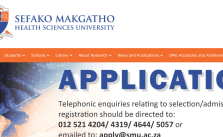 SMU Online Applications 2022 | Apply to Sefako Makgatho Health Sciences University Now