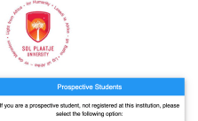 SPU Online Applications 2022 | Apply to Sol Plaatje University