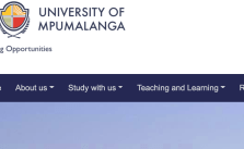 University of Mpumalanga Online Applications 2022 | Apply to UMP