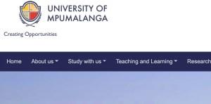 University of Mpumalanga Online Applications 2022 | Apply to UMP