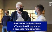 Premier's Advancement of Youth Programme Opportunity 2021 Is Open