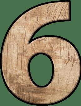 Числата в сънищата - Шест