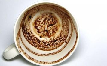 Гледане на кафе - символите в кафето