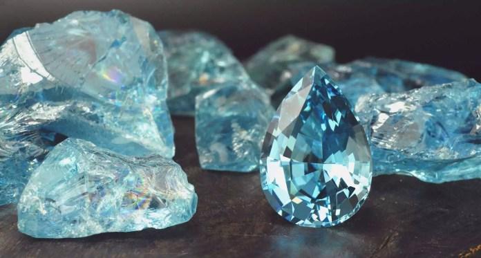 Скъпоценните камъни и зодиите - Аквамарин