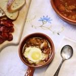 Sopa Castellana (Garlic Soup with Eggs)