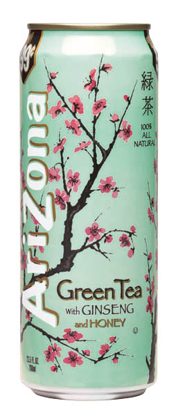 Arizona Iced Tea Green Tea with Ginseng