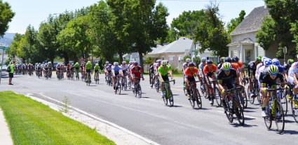 Hundreds of professional cyclists pass through Manti on Thursday, Aug 3 as part of the Larry H. Miller Tour of Utah bicycle race, one of the top bicycle races in North America. Lachlan Morton of Team Jelly-Belly-Maxxis won the individual category and the BMC Racing Team won the team standings.