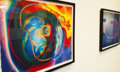 """The Snow College Art Galley is hosting """"Illuminations: Photographic Deconstruction,"""" an art exhibition by Bill Kennedy, artist, published author and professor of photo-communications at St. Edward's University in Austin, Texas. - Robert Stevens / Messenger photo"""