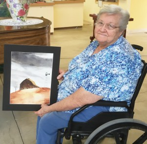 Linda Leavitt of Mt. Pleasant is one of the three artists who will have work on display as part of the Sanpete Artists Rotating Galley. An open house, which is free to the public, will held on Sept. 30. The other two artists being featured are Lois Anderson and Donna Seager, both of Fairview.