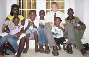 Jens Howe met the Jacobs family while serving an LDS mission in Guyana, South America, and says he and his peers plan to create a safer environment for the family by repairing the exterior of their home and putting a strong roof over their heads.