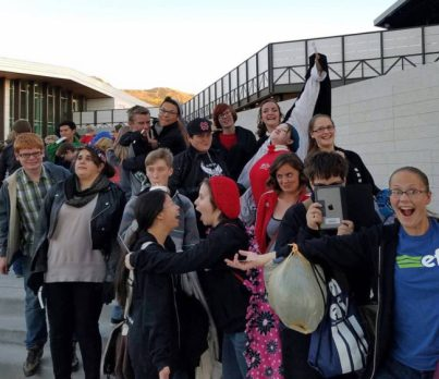 The North Sanpete High performing arts students got creative on and off the stage while at the Shakespeare competition in Cedar City.