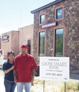 Jose and Malena Tinoco are excited for the grand opening of their new restaurant Sept. 21 at 300 North and Main in Ephraim.