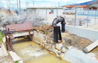 Equipment failure at this Manti City culinary water well has city officials requesting Manti residents to conserve culinary water until the city can have the well repaired.
