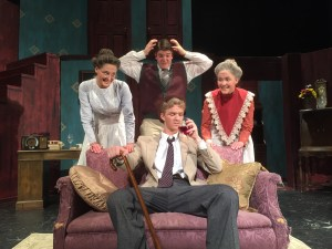 The North Sanpete High drama department is putting on a production of 'Arsenic and Old Lace'.