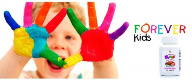 Forever Kids bổ sung dinh dưỡng toàn diện cho trẻ 3