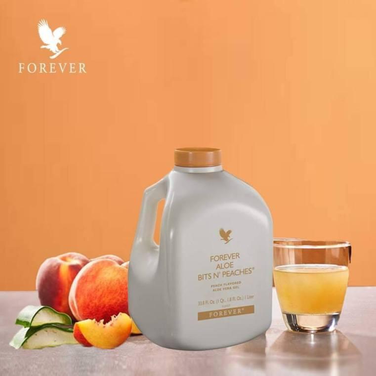 Nước uống dinh dưỡng Forever Aloe Bits N'Peaches #077