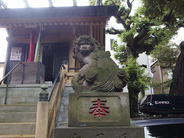第六天根岸神社写真