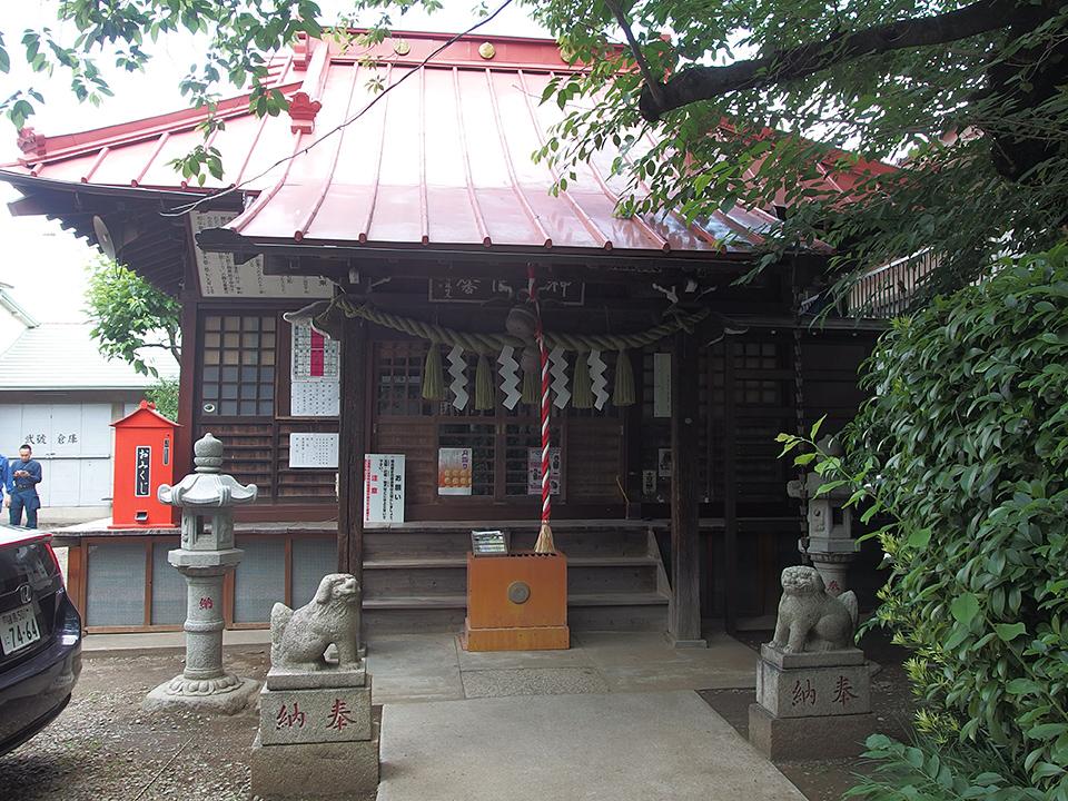 染井稲荷神社