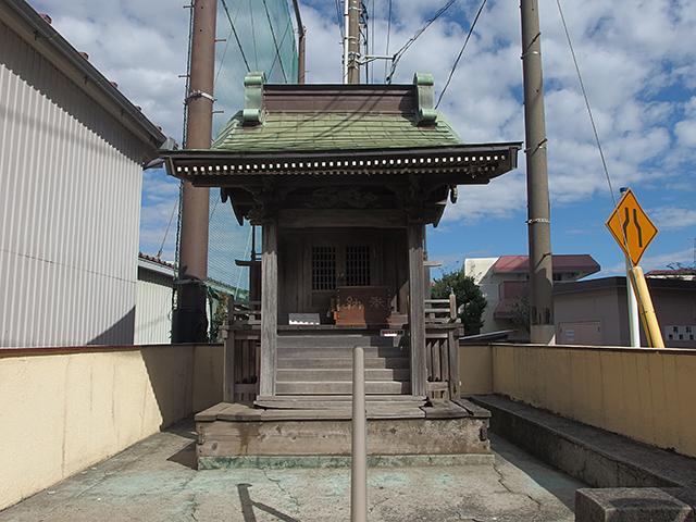 御社母子稲荷神社写真