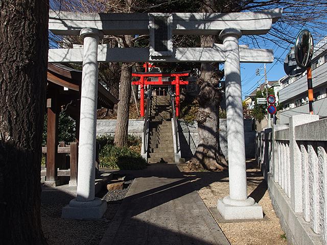 藤森稲荷神社(大田区)写真