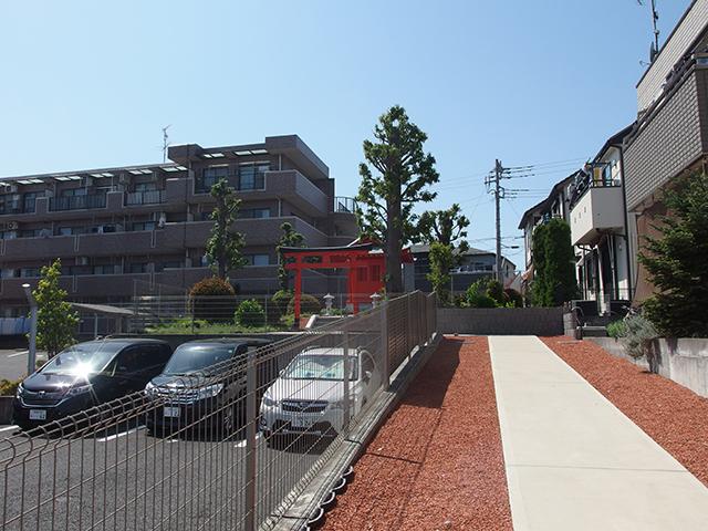 公所神社(大和市下鶴間)写真