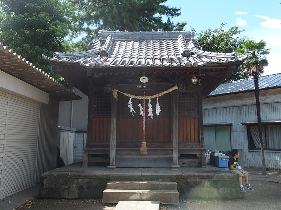 神明神社(川崎市幸区古川町)