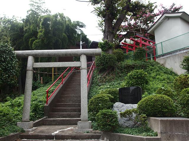 白山神社(川崎市宮前区馬絹)写真