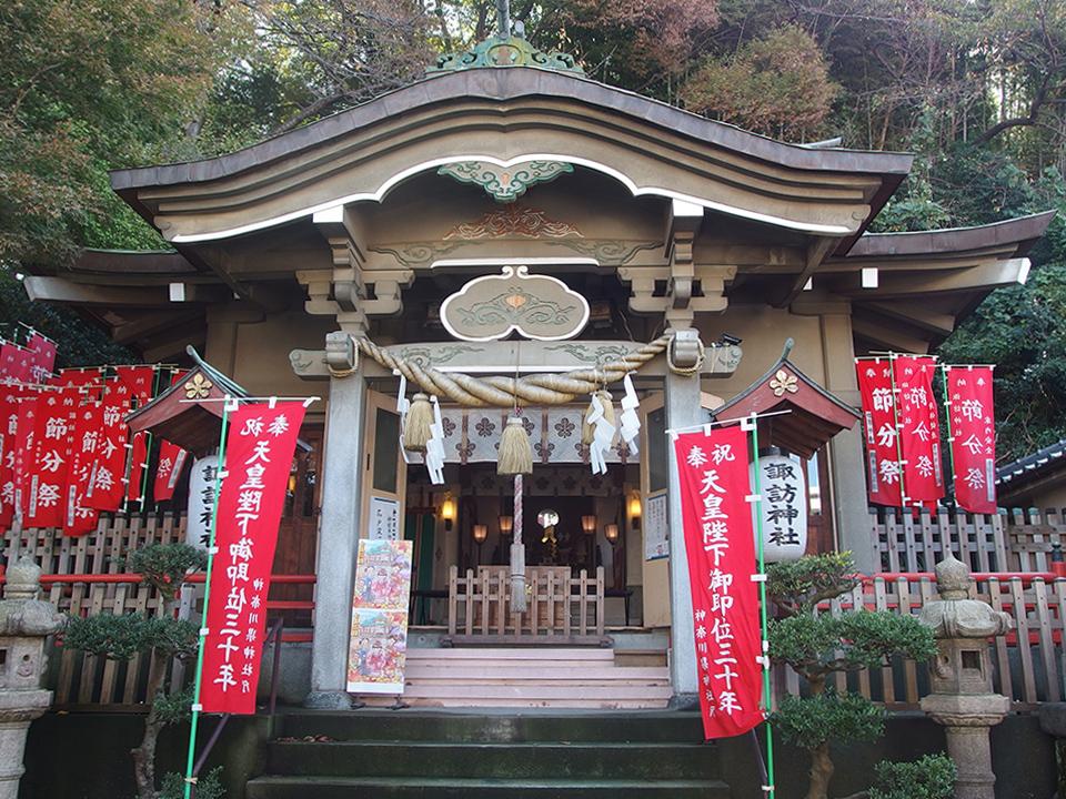 石川町諏訪神社