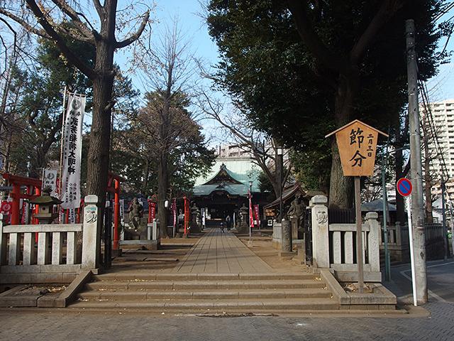 鬼子母神堂(豊島区雑司が谷)写真