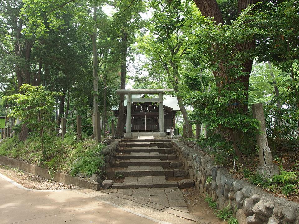 浅間神社(八王子市台町)